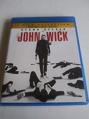 John Wick 1& 2 - 2-Film Collection, 2018 (Blu-Ray + DVD) mint Condition UNOPENED