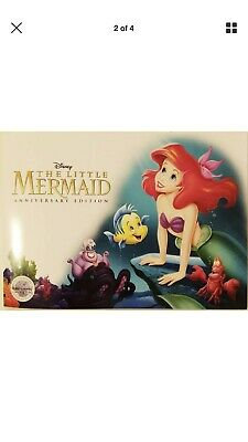 Disney Store 2019 The Little Mermaid Ariel 30th Anniversary Lithograph FolderSet