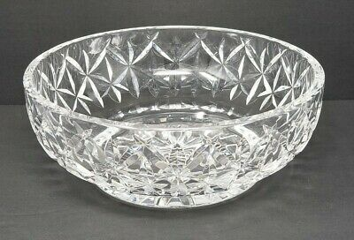 Waterford Crystal 8'' Serving Bowl Made In Ireland