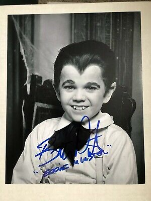 Butch Patrick Signed Eddie Munster 8x10 Photo