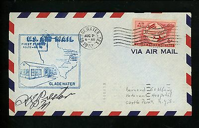 US POSTAL HISTORY Airmail CAM AM 82 Pine Bluff AR 1953 AAMC