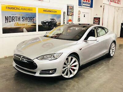 2014 Model S P85+-ONLY 22,919 MILES-1 OWNER-CLEAN CARFAX-MSRP W ilver Metallic Tesla Model S with 22,919 Miles available now!