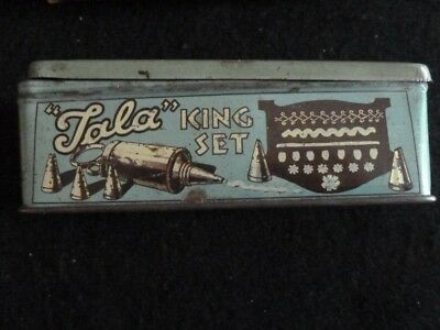 "Vintage Tala Icing ""King Set"" No. 1871 in original box and presentation box."