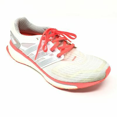 e37e4434150 Women s Adidas Energy Boost W Running Shoes Sneakers Size 8.5 Cream Orange  Z7
