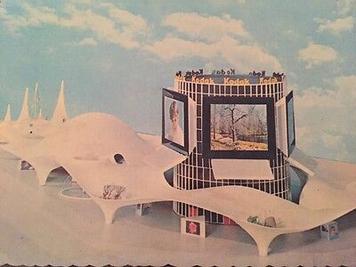 Vintage Postcard NY New York World's Fair 1964-1965 Kodak Pavilion