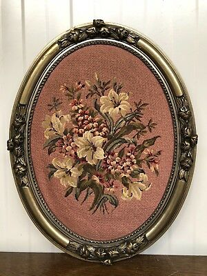 Nice French Frame with Tapestry/needle point