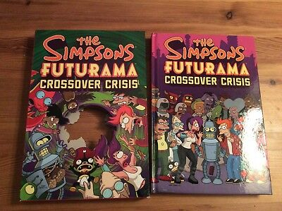 The Simpsons Futurama Crossover Crisis, with slip cover great condition