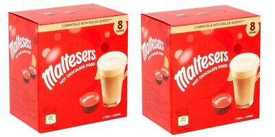 Maltesers Hot Chocolate Pods Dolce Gusto Compatible 16 drinks