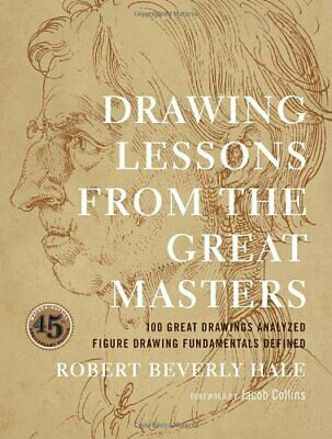 Drawing Lessons from the Great Masters NUEVO Brossura Libro Jacob Collins