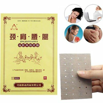 15Pcs Pain Relieving Herbal Plaster Patches Muscle-Relief Injury Heat Therapy N∨