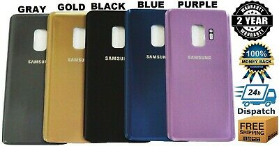 Replacement Battery Back Door Glass Cover Housing For Samsung Galaxy S9