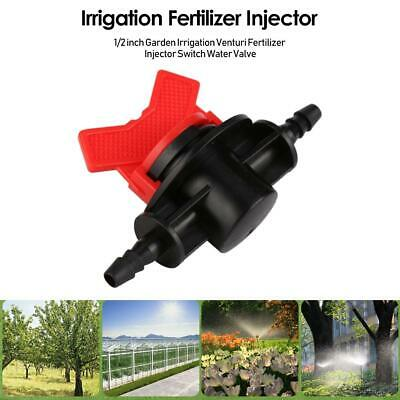 1/2 inch Garden Irrigation Venturi Fertilizer Injector Switch Water Valve TN2F