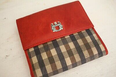 Authentic Vintage Aquascutum London Wallet, made in London