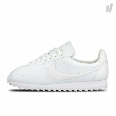 81ac368a4ed5 Nike NikeLab Classic Cortez Shark SP Low TRIPLE WHITE TOOTH 810135-110 sz 13