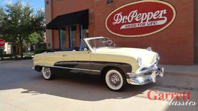 1950 Ford Crestliner  1950 Ford  Custom Convertible 350 V-8  3 Speed Automatic