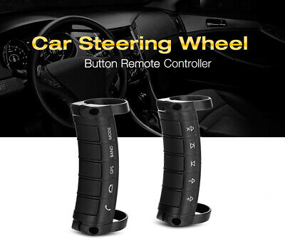 Universal Wireless Car Steering Wheel Button Remote Controller For GPS DVD Media