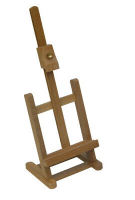 Small Easel Beech Wood Wooden Art Display Painting Stand Wedding Artist Hobby