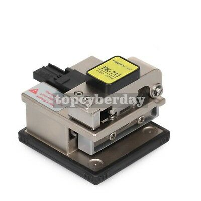TK-711 High Precision Plastic Metal Optical Fiber Cleaver Fiber Optics Cutter #