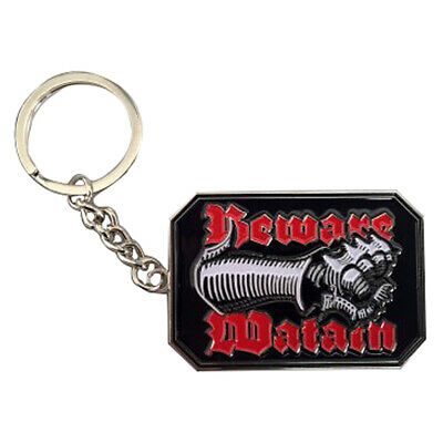 Authentic WATAIN Fist Beware Key Chain NEW