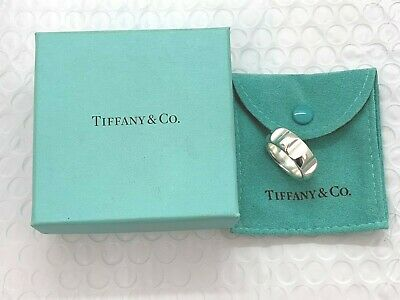 2a99b8223 Tiffany & Co. Paloma Picasso True Love Groove Ring Sterling Silver Size 9