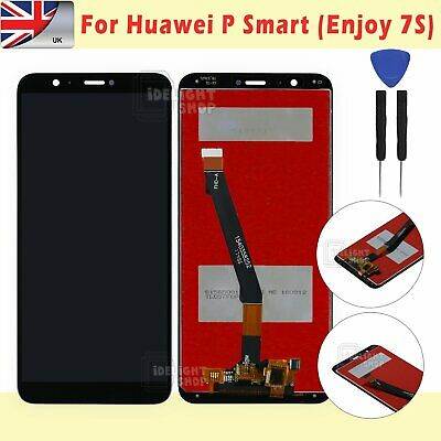 For Huawei P Smart FIG-LX1 LX-2 LX-3 LCD Touch Screen Digitizer Black Assembly