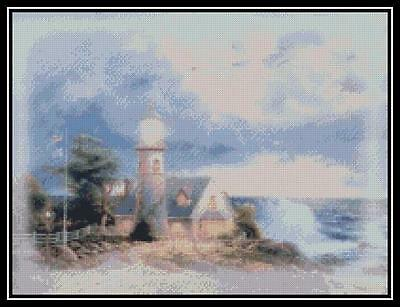 Light in the Storm - Cross Stitch Chart/Pattern/Design/XStitch