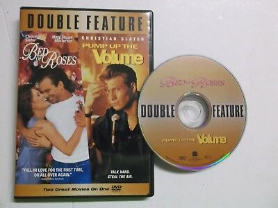 Christian Slater Double Feature Bed of Roses / Pump Up the Volume (DVD, 2005)