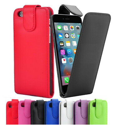 For Apple iPhone, iPod Touch Flip Down Case / Cover in PU Leather Multi Listing