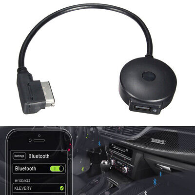 For Audi AMI / MMI Bluetooth AUX Music Interface Adapter Connector Phone Charger