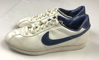 online shop pre order footwear VINTAGE 80S WOMENS Nike X 7 M White Leather Lace Up Bowling ...
