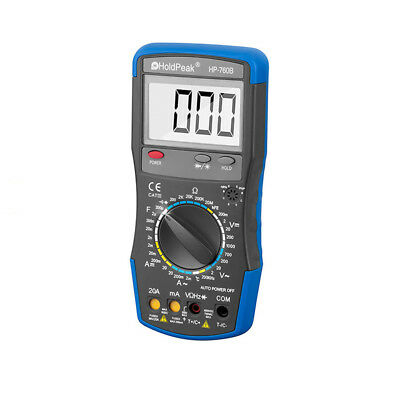 HP-760B Electrical LCD Digital Clamp Meter Multimeter AC/DC OHM Multi Tester