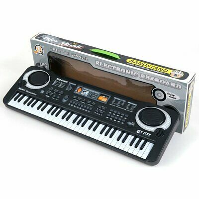 61 Keys Digital Music Electronic Keyboard Board Toy Gift Electric PianoRG