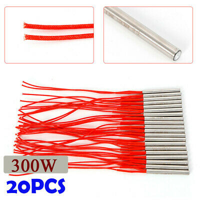 AC110V 300W High Thermal Cartridge Mold Heating Element Heater Tube Kit 9.5*80mm