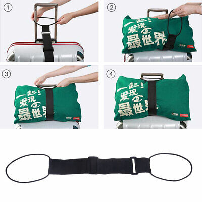 Portable Adjustable Strong Travel Luggage Strap Suitcase Packing Fixed Belt