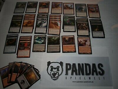 MtG Magic the Gathering b/r Landfall Deck