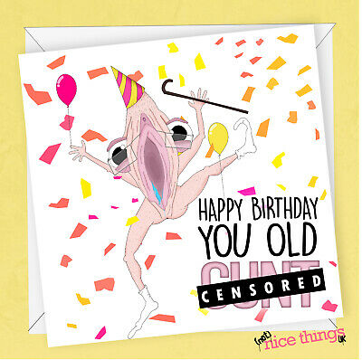 Funny Rude Birthday Card Cards For Him Boyfriend Dirty