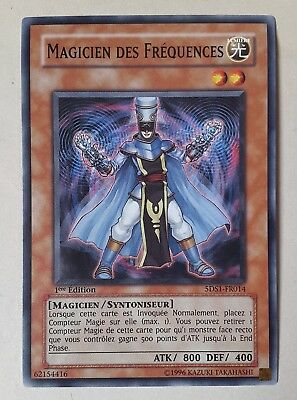 CARTE Yu Gi Oh! MAGICIEN DES FREQUENCES 5DS1-FR014 VF (NEUF/MINT)