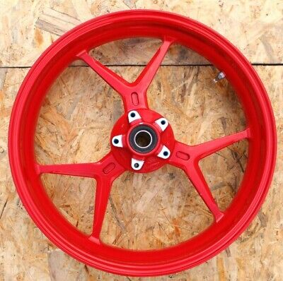 Ducati Supersport S 937 939 2017 2018 Front wheel red 50121783AE oem