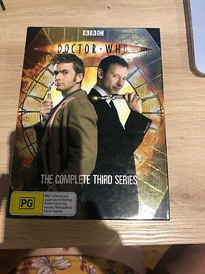 Doctor Who : Series 3 (DVD, 2011, 6-Disc Set)