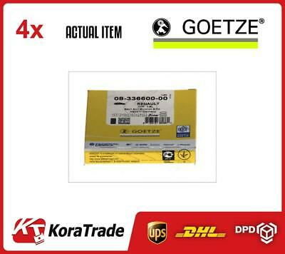 4 x GOETZE ENGINE CYLINDER PISTON RINGS KIT FOR 1 CYL. 0833660000