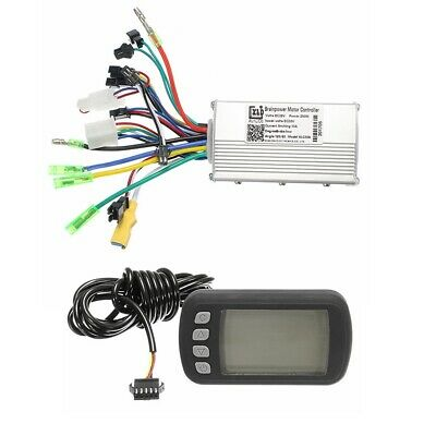 24V36V48V250W350W BLDC Motor Speed Controller LCD Display For MTB E-Bike