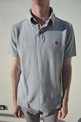 Polo homme taille S burberry brit gris small burberry polo shirt size small  grey 140102639f4