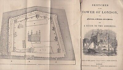 Published 1861; Sketches Of The Tower Of London As A Fortress, Prison & Palace