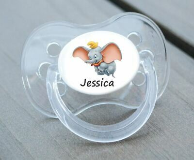 Personalised Dummy Pacifier Soother, All Teats,Sizes & Colours, Bo
