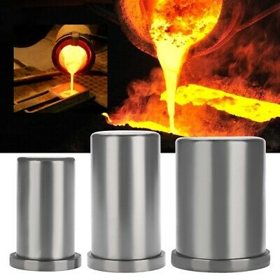 Graphite Furnace Casting Foundry Crucible Melting Tools Ingot Gold Silver Mould