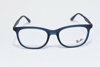 9a6d1d11b38 Ray-Ban Rb 7078 5679 Lightweight Eyeglass Frames Blue Gunmetal 51-18-145