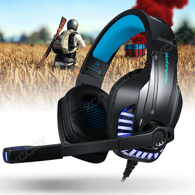 Gaming Headset Headphones with LED Mic for Nintendo Switch PS4 Xbox One X Laptop