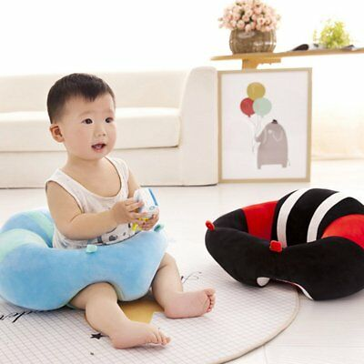 Baby Support Seat Cotton Plush Sofa Soft Baby Infant Learning To Sit Chair B⊥