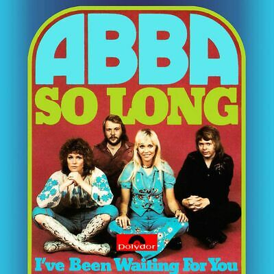 ABBA So Long I've Been Waiting For You Vinyl LP Cover Sticker or Magnet