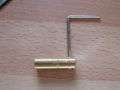 vienna brass clock key size 3.5mm